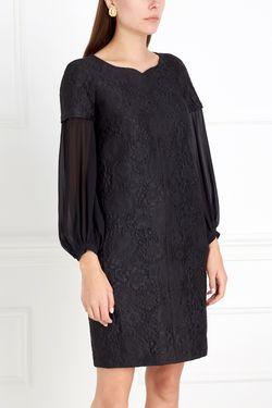 Платье Из Жаккарда Chapurin                                                                                                              черный цвет