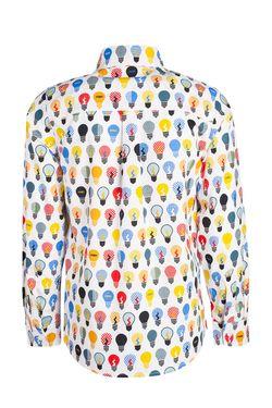 Рубашка С Принтом Fendi Children                                                                                                              многоцветный цвет