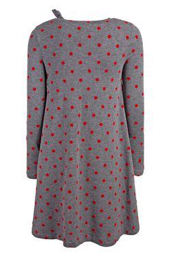 Платье В Горох Il Gufo                                                                                                              красный цвет