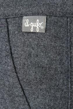 Однотонные Брюки Il Gufo                                                                                                              серый цвет