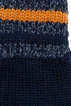 Шерстяные Перчатки Dolce&Gabbana Children                                                                                                              синий цвет