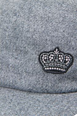 Кепка С Вышивкой Dolce&Gabbana Children                                                                                                              серый цвет
