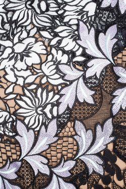 Кружевное Платье SELF-PORTRAIT                                                                                                              черный цвет
