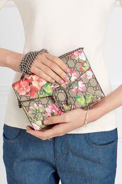 Бумажник Gg Supreme Gucci                                                                                                              многоцветный цвет