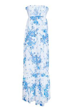 Платье Из Хлопка И Шелка Alice By Temperley                                                                                                              белый цвет