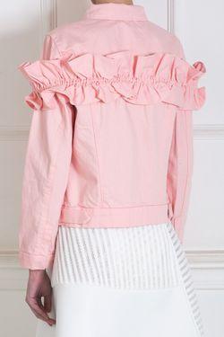 Хлопковый Жакет J Brand/Simone Rocha                                                                                                              розовый цвет