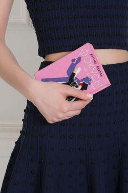 Хлопковый Клатч Olympia Le-Tan                                                                                                              синий цвет