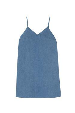 Хлопковое Платье ARnouveau                                                                                                              голубой цвет