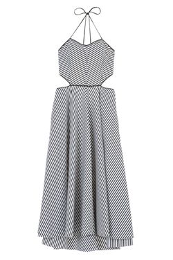 Хлопковое Платье Michael Kors                                                                                                              чёрный цвет