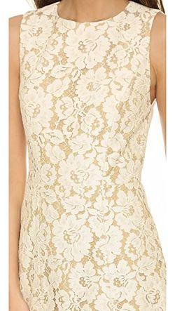 Расклешенное Платье Без Рукавов Leann Alice + Olivia                                                                                                              бежевый цвет