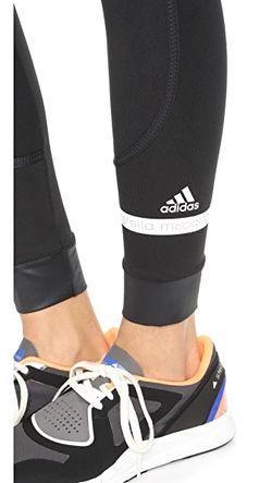 Спортивные Леггинсы С Отложной Вставкой Adidas By Stella  Mccartney                                                                                                              голубой цвет