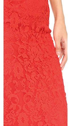 Кружевная Юбка-Карандаш Nadia Bb Dakota                                                                                                              оранжевый цвет