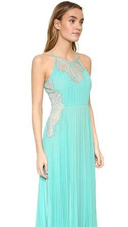 Вечернее Платье Misty BCBGMAXAZRIA                                                                                                              Аква цвет