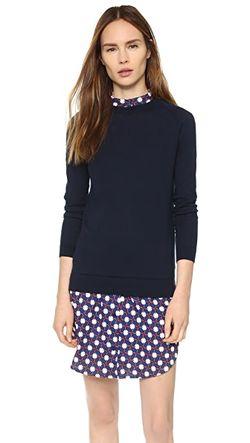 Платье-Свитер Carven                                                                                                              голубой цвет