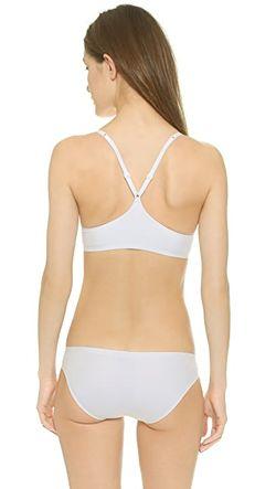Бюстгальтер Perfectly Fit Memory Touch Со Спиной-Борцовкой Calvin Klein                                                                                                              белый цвет