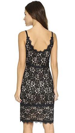 Кружевное Платье Olivia Diane Von Furstenberg                                                                                                              чёрный цвет