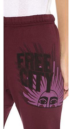 Укороченные Спортивные Брюки Sunray Swami Free City                                                                                                              Индийское Вино цвет