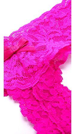 Трусики-Танга After Midnight С Низкой Посадкой И Hanky Panky                                                                                                              розовый цвет