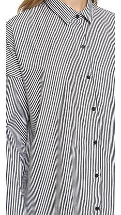 Рубашка Chirley С Пуговицами IRO.JEANS                                                                                                              черный цвет
