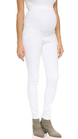 Джинсы-Скинни Для Беременных Twiggy James Jeans                                                                                                              белый цвет