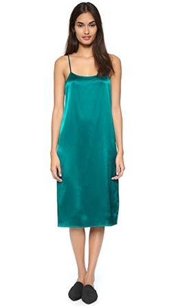 Платье-Комбинация Jenni Kayne                                                                                                              Изумрудный цвет