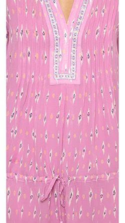 Шелковое Платье Suerte Joie                                                                                                              Вербена цвет