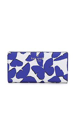 Универсальный Кошелек Stacy Kate Spade New York                                                                                                              синий цвет
