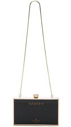 Клатч В Виде Коробки Шоколада Kate Spade New York                                                                                                              многоцветный цвет