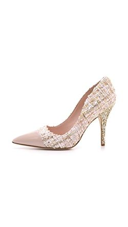 Туфли-Лодочки Lacy Из Твида С Блестящим Каблуком Kate Spade New York                                                                                                              многоцветный цвет