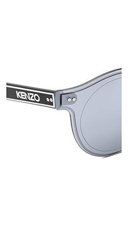 Узкие Солнцезащитные Очки Kenzo                                                                                                              серебристый цвет