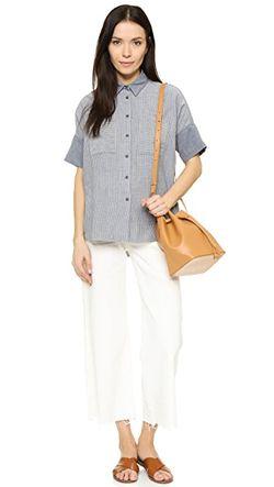 Рубашка Courier Madewell                                                                                                              Бенгальский Индиго цвет