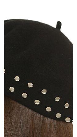 Берет С Декоративной Отделкой Marc by Marc Jacobs                                                                                                              черный цвет