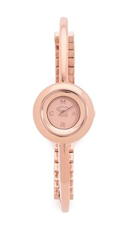 Часы Dinky Donut С Браслетом-Бэнглом Marc by Marc Jacobs                                                                                                              Розовое Золото цвет
