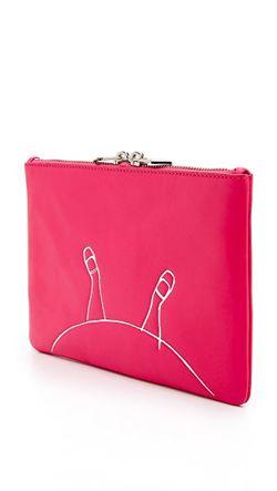 Косметичка Alice Среднего Размера На Молнии Marc by Marc Jacobs                                                                                                              многоцветный цвет