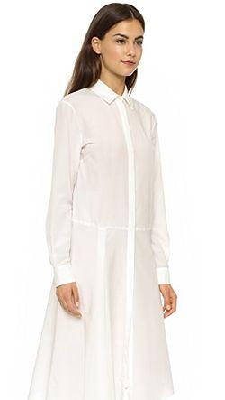 Платье-Рубашка С Драпировкой Mcq Alexander Mcqueen                                                                                                              золотой цвет