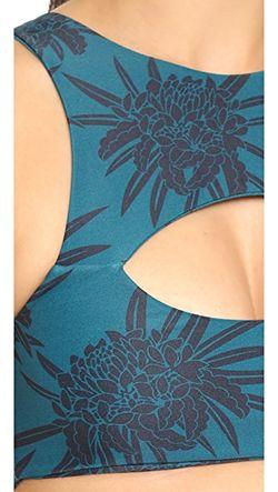 Укороченный Лиф Бикини Marrakesh MIKOH                                                                                                              Полночная Протея цвет