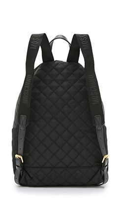 Рюкзак Moschino                                                                                                              чёрный цвет
