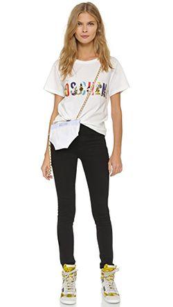 Сумка Underwear Moschino                                                                                                              белый цвет