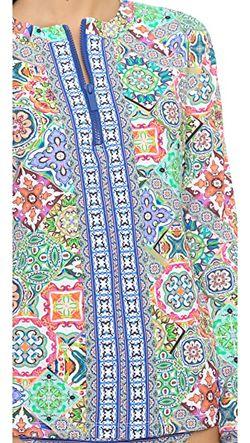 Топ Для Плавания С Рисунком В Стиле Nanette Lepore                                                                                                              многоцветный цвет