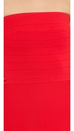 Платье Без Бретелек С Перфорацией Ohne Titel                                                                                                              красный цвет