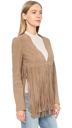 Куртка С Бахромой Ronni ONE by LAMARQUE                                                                                                              Кофе С Молоком цвет
