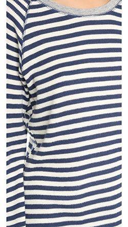 Пижамный Топ В Полоску PJ Salvage                                                                                                              синий цвет