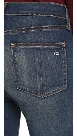 Джинсы-Скинни 10 Inch Rag & Bone/Jean                                                                                                              Aston цвет