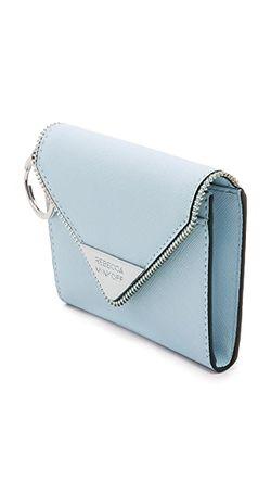 Кошелек Molly Metro Rebecca Minkoff                                                                                                              голубой цвет