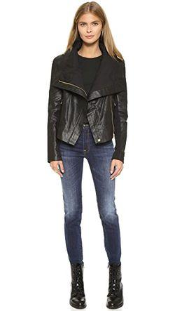Кожаная Куртка Chloe 6 Shore Road by Pooja                                                                                                              черный цвет