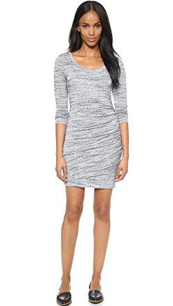 Платье Tri Blend Из Ворсистой Ткани С Splendid                                                                                                              серый цвет