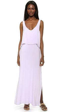 Макси-Платье Mediterranean Splendid                                                                                                              фиолетовый цвет