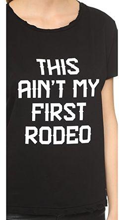Футболка First Rodeo С Эффектом Поношенности Style Stalker                                                                                                              серый цвет