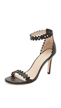 Туфли На Каблуках Со Шнуровкой На Щиколотке Zimmermann                                                                                                              голубой цвет