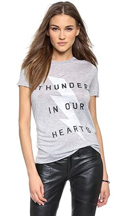 Футболка Thunder In Our Hearts Zoe Karssen                                                                                                              серый цвет